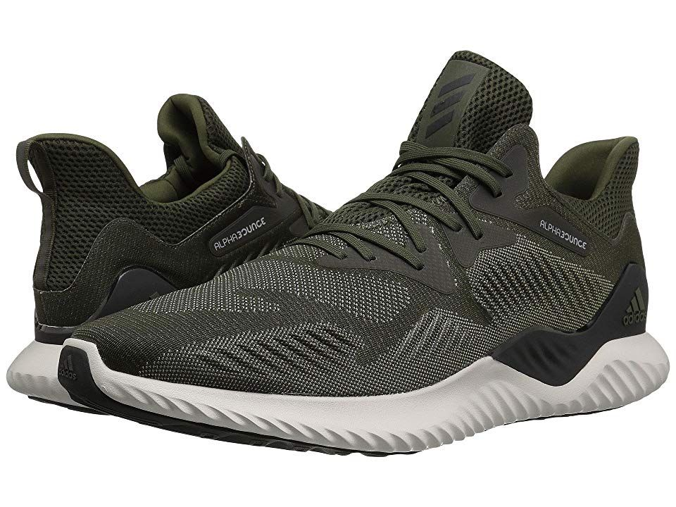 40e60c4f61a29 adidas Running Alphabounce Beyond (Night Cargo Core Black Tech Beige) Men s  Running Shoes. Give each workout more energy with the Alphabounce Beyond ...