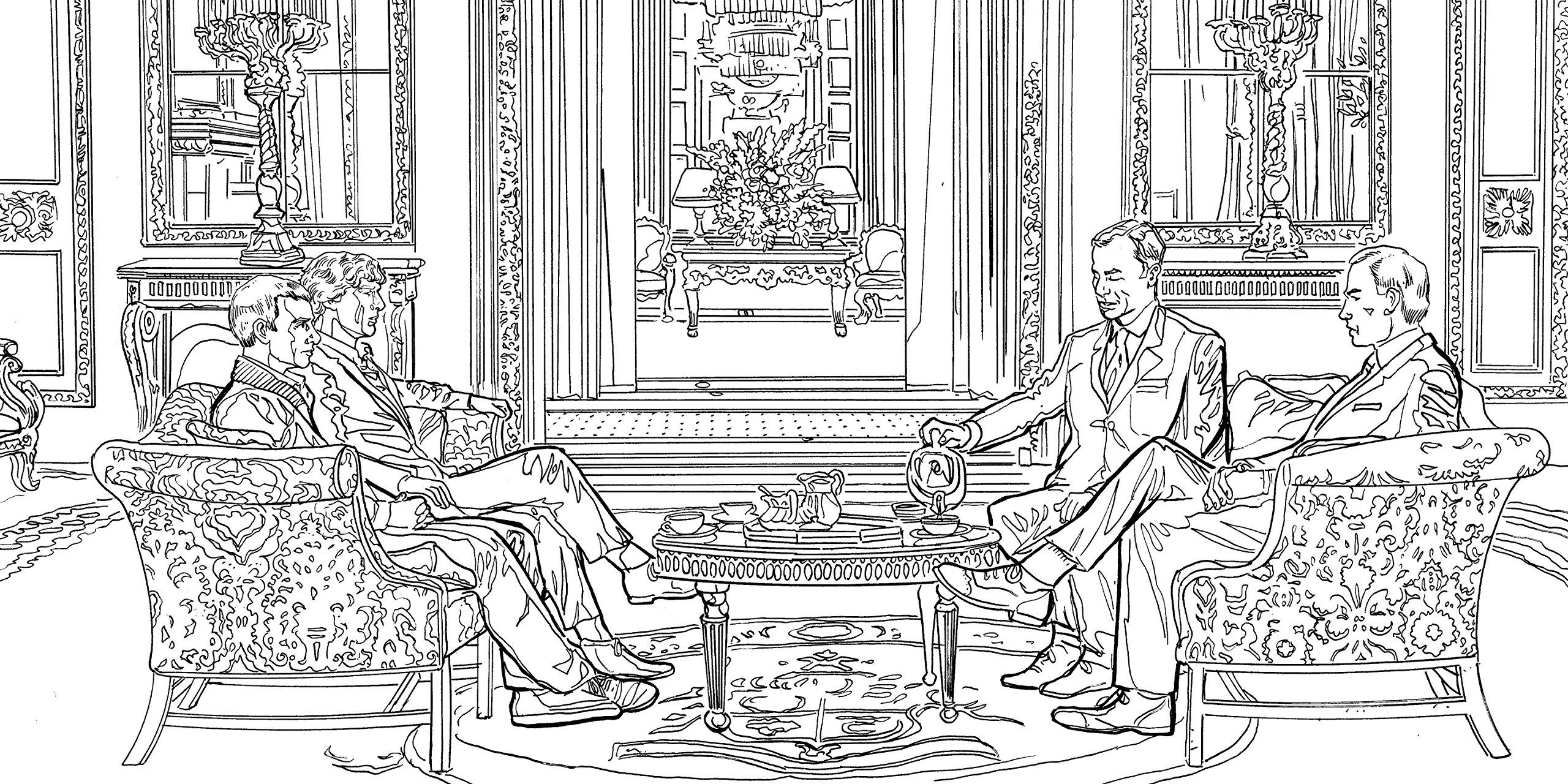 sherlock the mind palace the official colouring book amazoncouk - Amazon Coloring Book