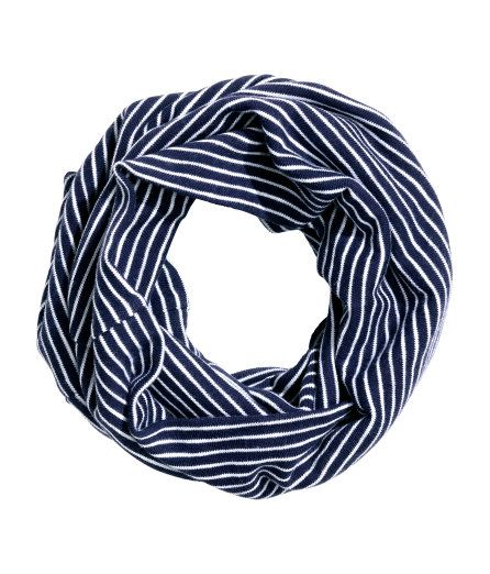 a8132097cad Check this out! Double-layered tube scarf in jersey. Width 13 3 4 in ...