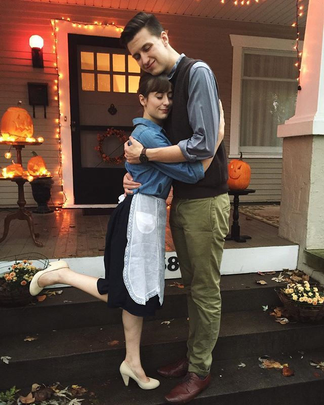 Throwback: 17 Halloween Costumes For Couples Who Keep It Old