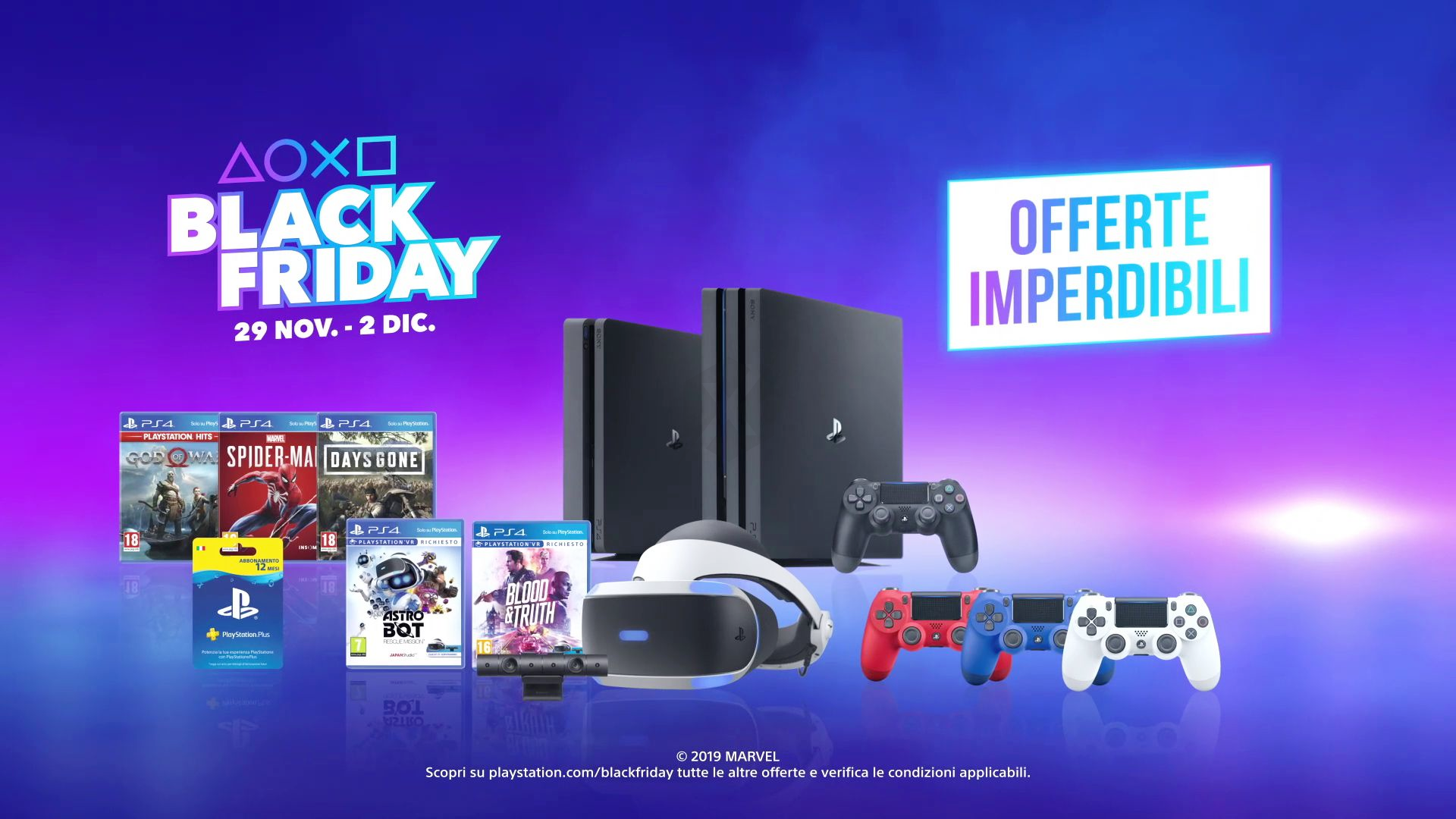 Ps4 Pro Playstation 4 Psvr And Games All Offers For Sony Black Friday 2019 Playstation Playstation 4 Ps4