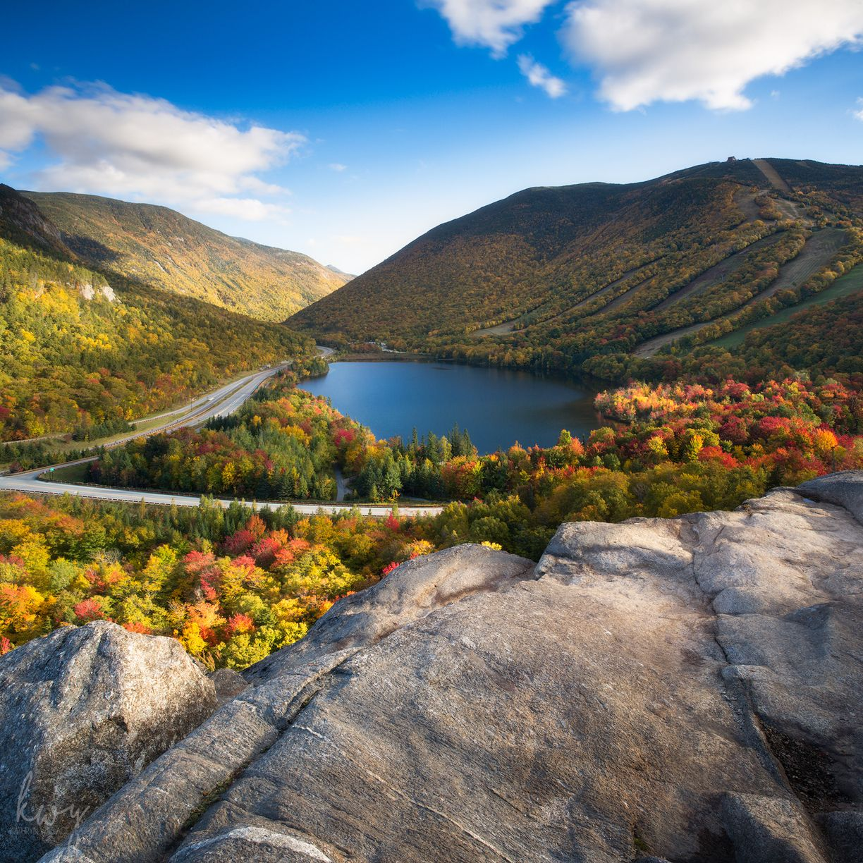 Franconia Notch State Park, Franconia, New Hampshire — by