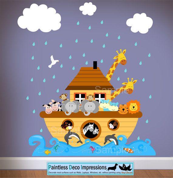 My Baby Girl Will Need This Children Noahs Ark Wall Nursery - Wall decals noah's ark