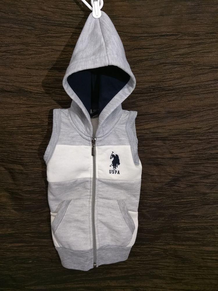 1ea8e645c USPA Polo Sleeveless Hooded Zip Up Vest Size 2T  fashion  clothing  shoes   accessories  babytoddlerclothing  boysclothingnewborn5t (ebay link)