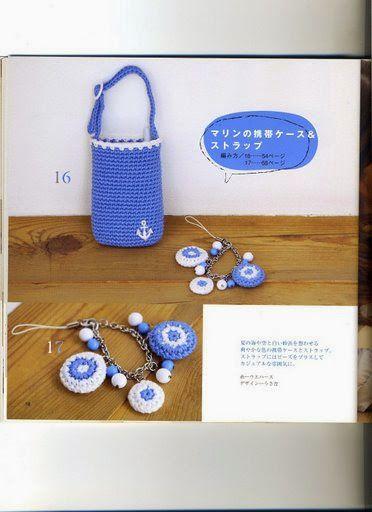 Crochet and arts: bag