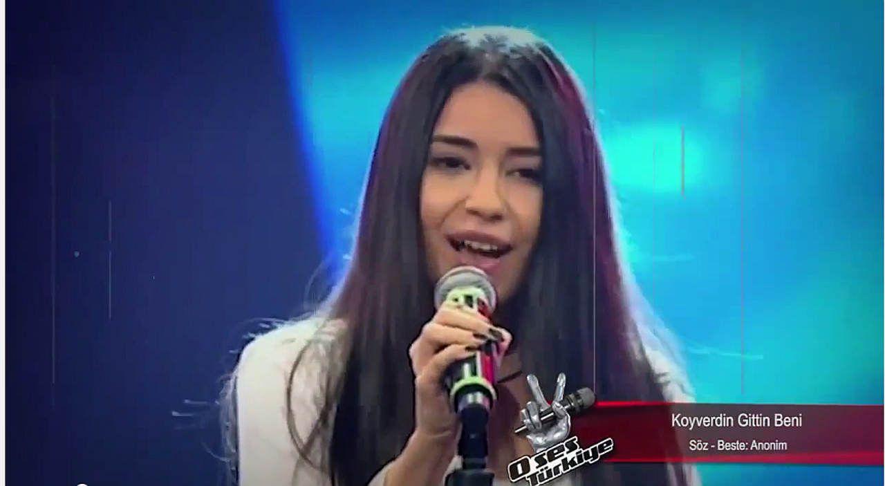 (VİDEO) Berfin Bulut - Gelevera Deresi - Koyverdin Gittin Beni O Ses Türkiye Performansı