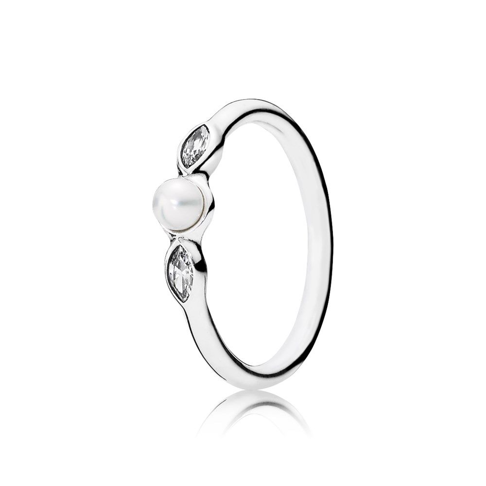 0cf11fd32 ... where to buy ring in sterling silver with 1 peg set white freshwater  cultured pearl and