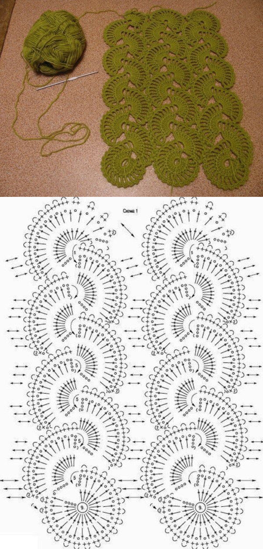 Pin de leslie rego en Crochet Baby | Pinterest | Puntadas y Tejido