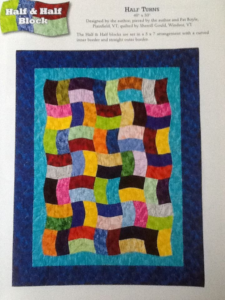 68a6ed219dcf5 Half Turns from Flip Flop quilts