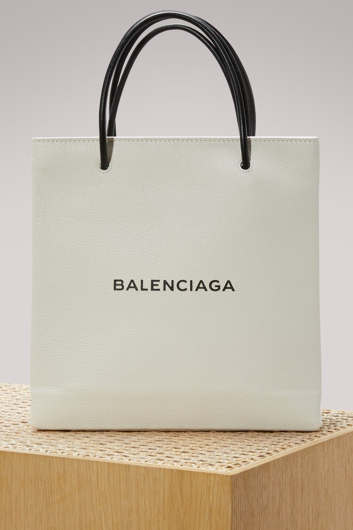 BALENCIAGA LOGO SMALL SHOPPING BAG. #balenciaga #bags # ...