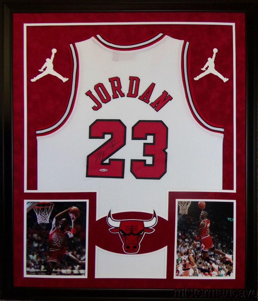 ca4ab2e49ee Michael Jordan Framed Jersey Signed UDA COA Upper Deck Bulls UNC Upper Deck  J... #michaeljordan #autographs