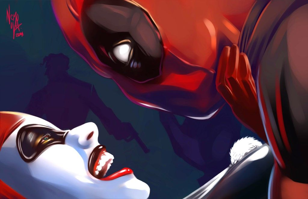 FAN ART: DEADPOOL and HARLEY QUINN in Love! - Page 2 of 2 - Comic ...