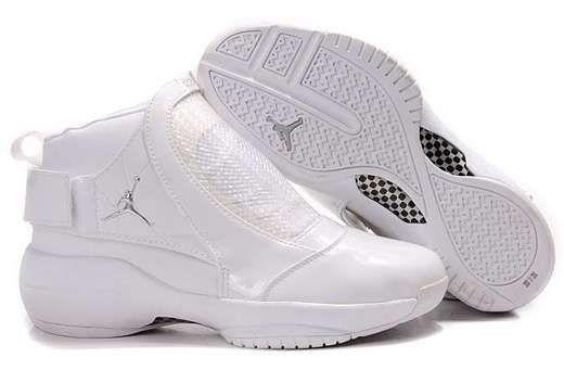 more photos 1102b 47228 Air Jordan Shoes 19(XIX) All White Shoes-626
