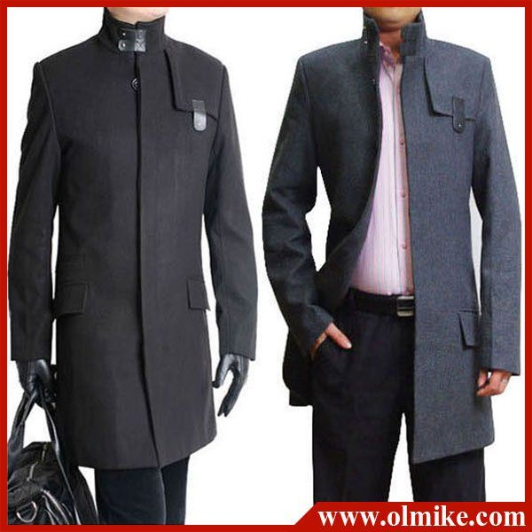 Sale 2012 new winter coat men's dust coat long coat man dust ...