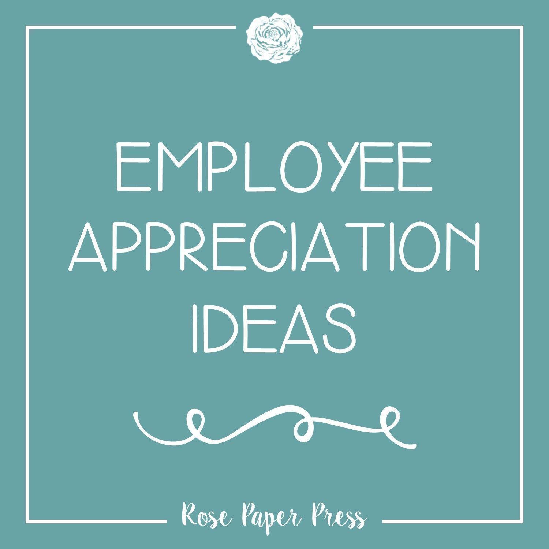 Employee Appreciation Ideas employeeappreciationideas