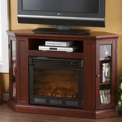 Wildon Home Stuart 48 Tv Stand With Electric Fireplace
