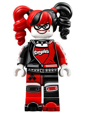 Harley Quinn 70906 NEW LEGO LEGO Batman Movie Minifigure Pigtails /& Bat