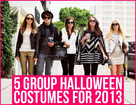 5 Group Halloween Costumes for 2013 Costumes, Group and Halloween - halloween costume ideas for groups of 5