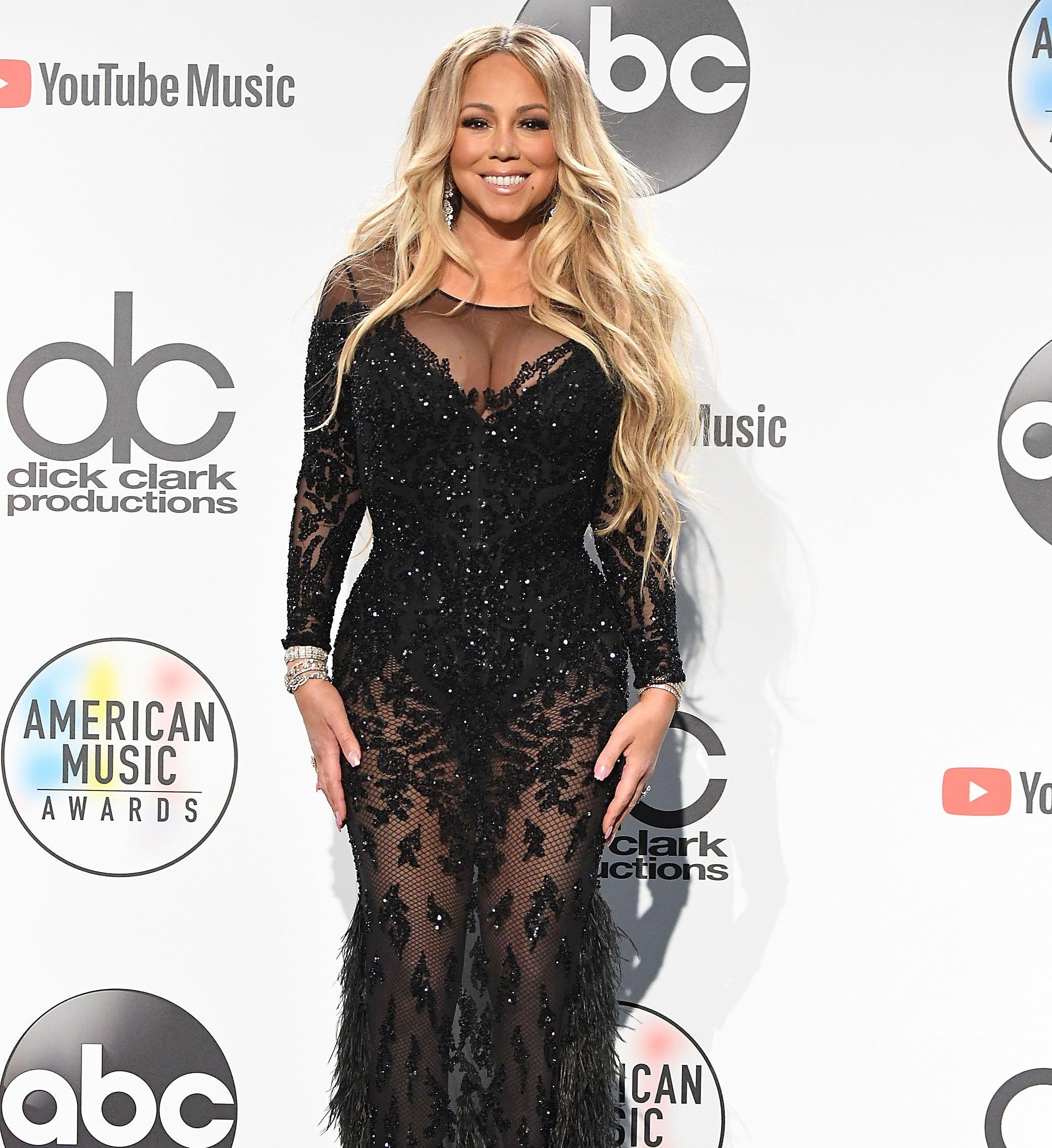 Mariah Carey Wow Sie Zeigt Sich Mega Schlank Strapless Dress
