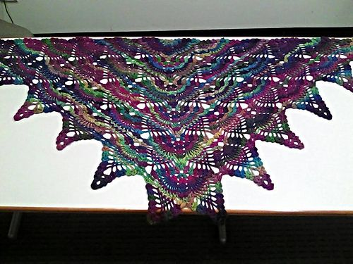 Ravelry: Strawberry Fields Forever Shawl pattern by Douglas Hill ...