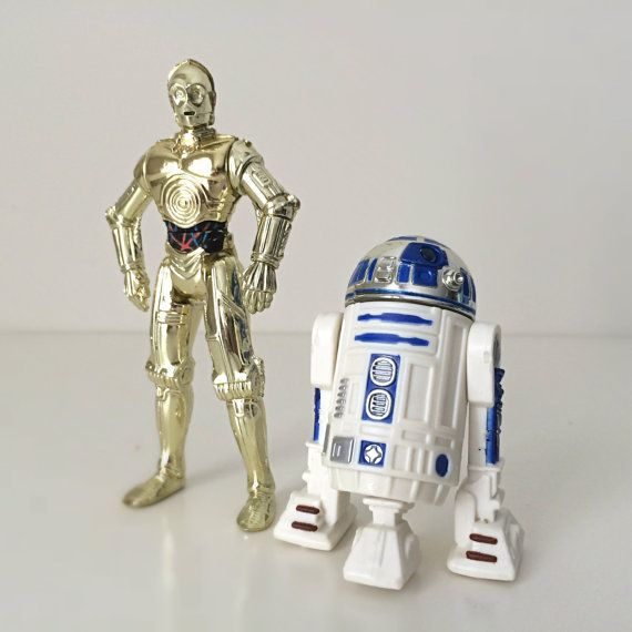 R2d2 And C3po Toys : Vintage star wars figures yoda luke skywalker in