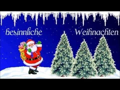 Weihnachts Grüsse Youtube Weihnachtskarten Pinterest