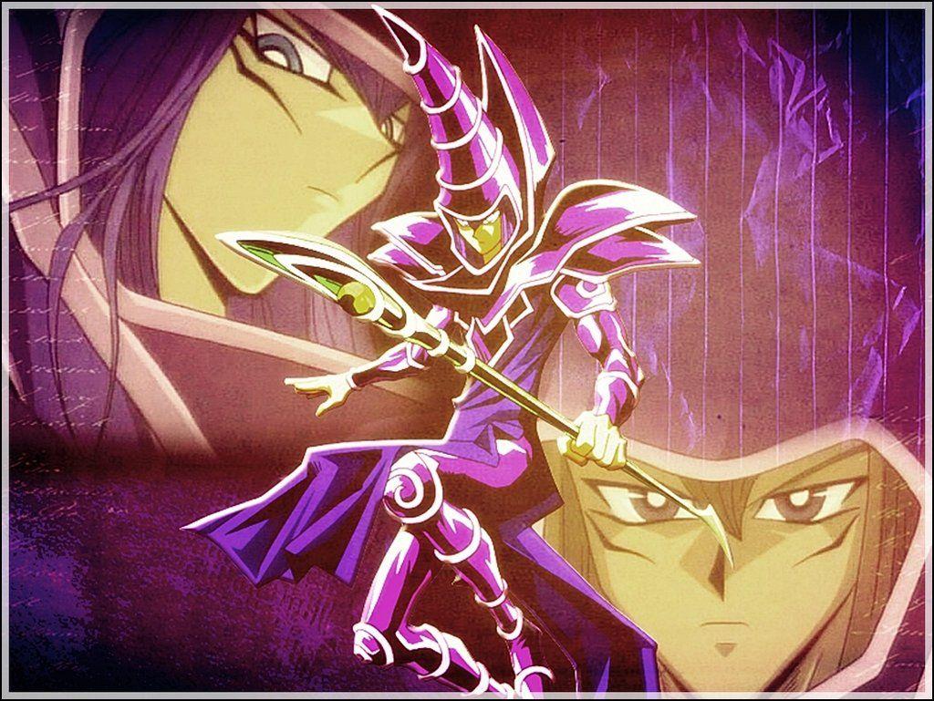 yugioh dark magician yu gi oh pinterest dark anime and manga