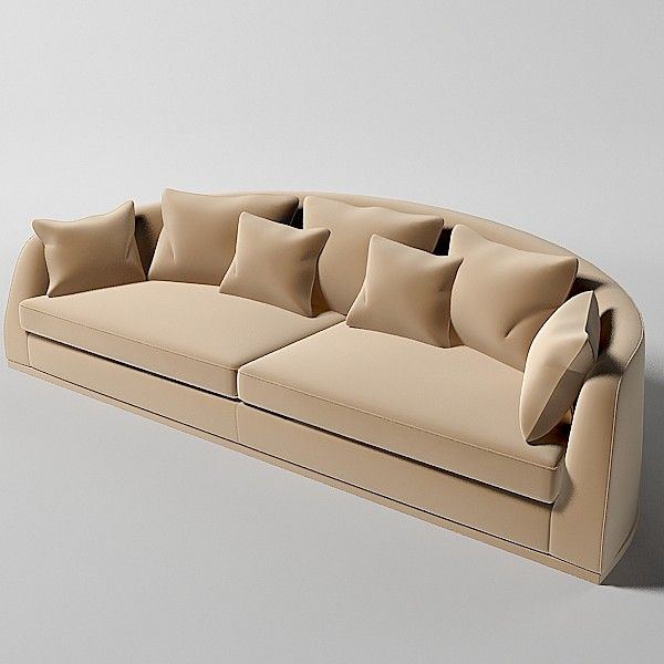 Custom Curved Sofas Modern With Photos Of Painting On