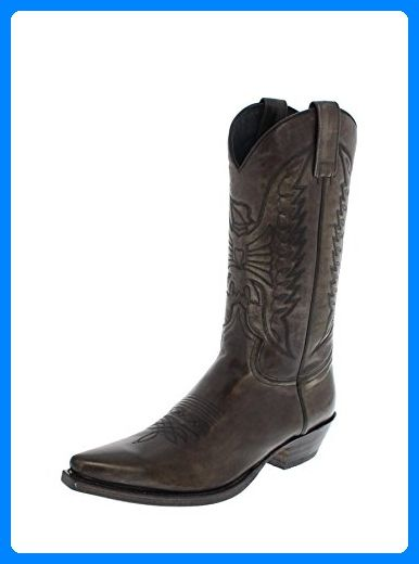 Sendra Boots 2073 Antracita Damen & Herren Cowboystiefel