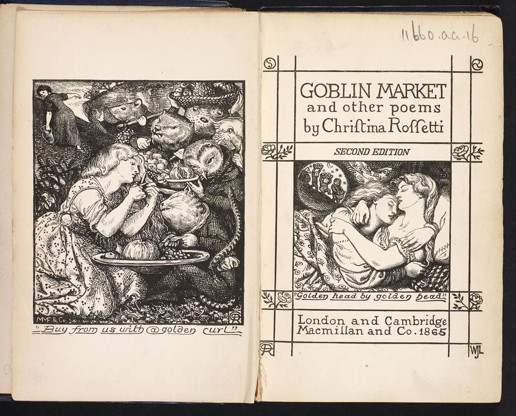 Poet Christina Rossetti was born #onthisday in 1830. #DiscoverLiterature to see Goblin Market. http://bit.ly/1zZ4VRR