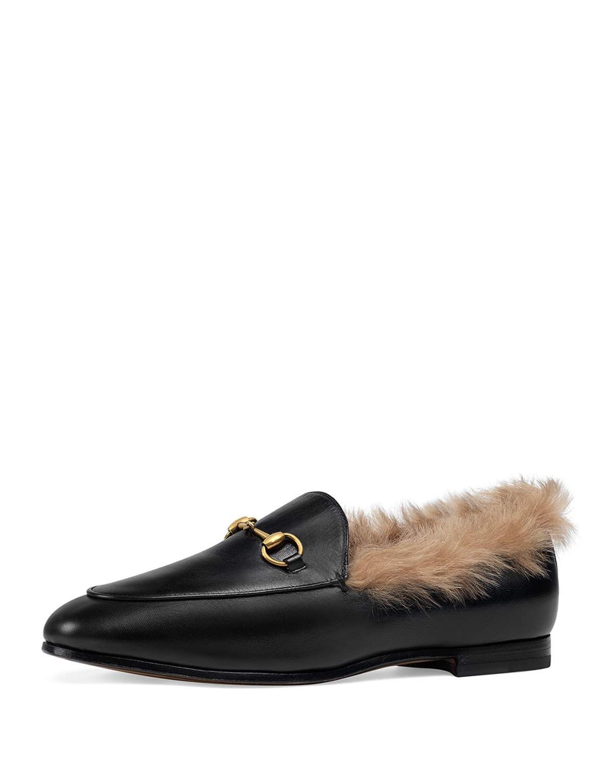 dc2f9db623a 10mm Jordaan Leather And Fur Loafer in 2018