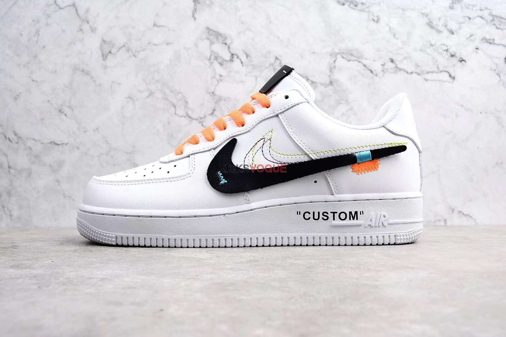 Air Force 1 Low White Custom
