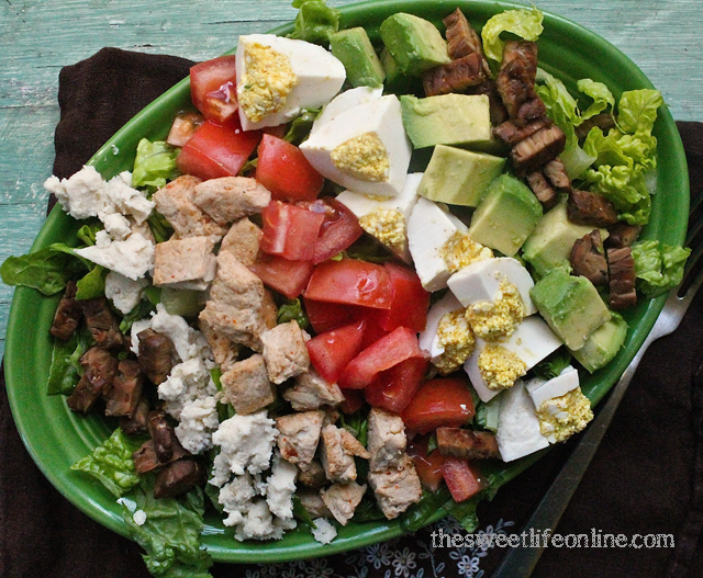 vegan cobb salad!