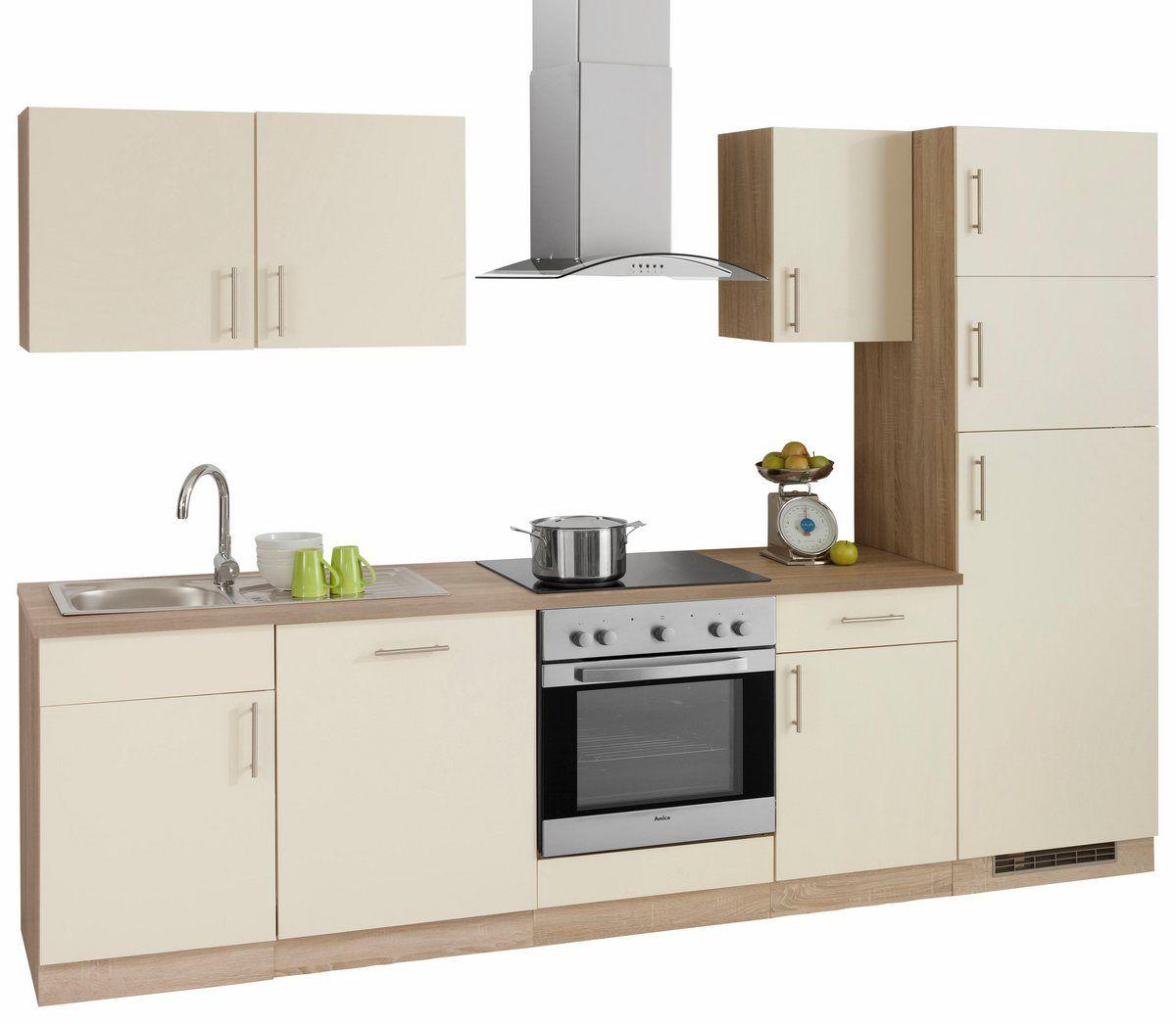Küchenzeile »Kiel«, mit EGeräten mit Kühl