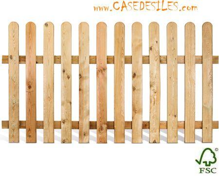 Clôture et barrière bois à Prix Réduit : Clôture barrière bois ...