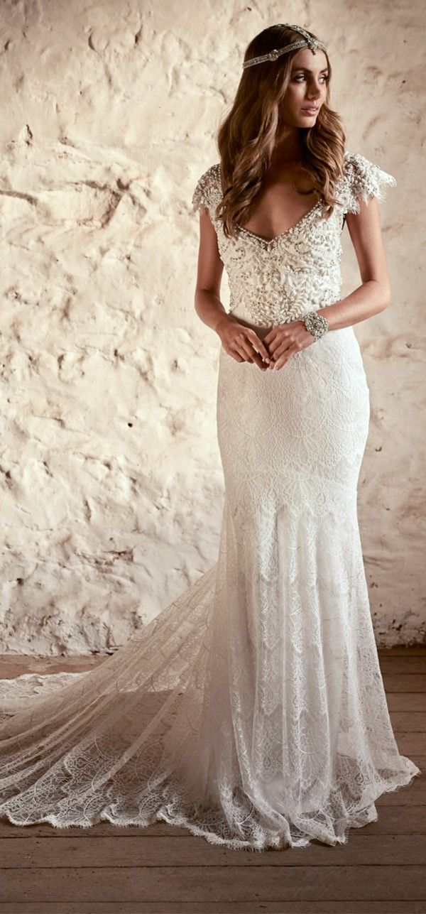 Anna Campbell Vintage Wedding Dresses 2018-Eternal Heart Collection