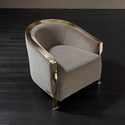 Anna casa interiors paris armchair by rugiano - Chaise greenwich treca interiors paris ...