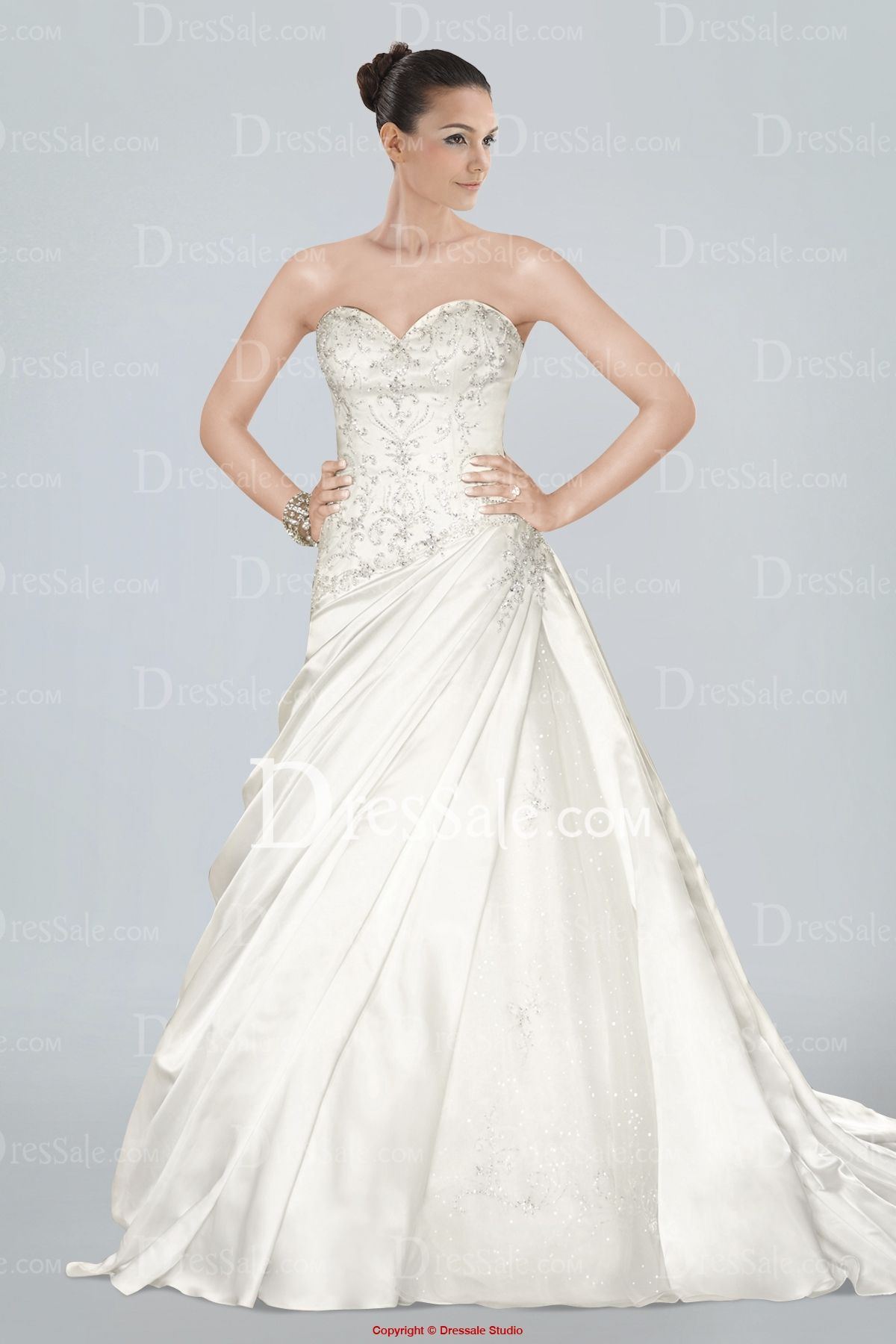 Pleated wedding dress  I like this Do you think I should buy it  wedding dresses