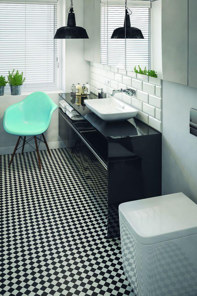 Sol salle de bain 12 rev tements de sol canon sdb pinterest sol salle de bain sol - Vinyle salle de bain ...