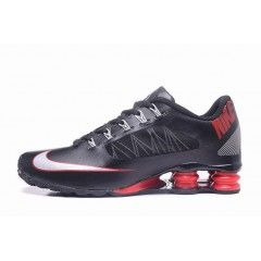 new concept fbc73 16ada Hommes Chaussure Nike Shox 808 Noir with Rouge  NikeShox