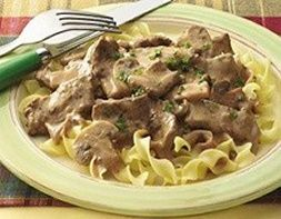 Easy Beef Stroganoff (7 Points+ Per Serving)