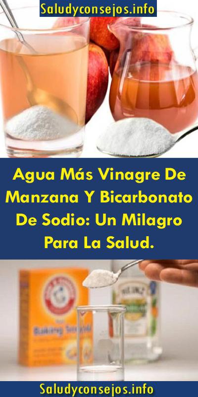 bicarbonato y vinagre de manzana soldier apearse de peso