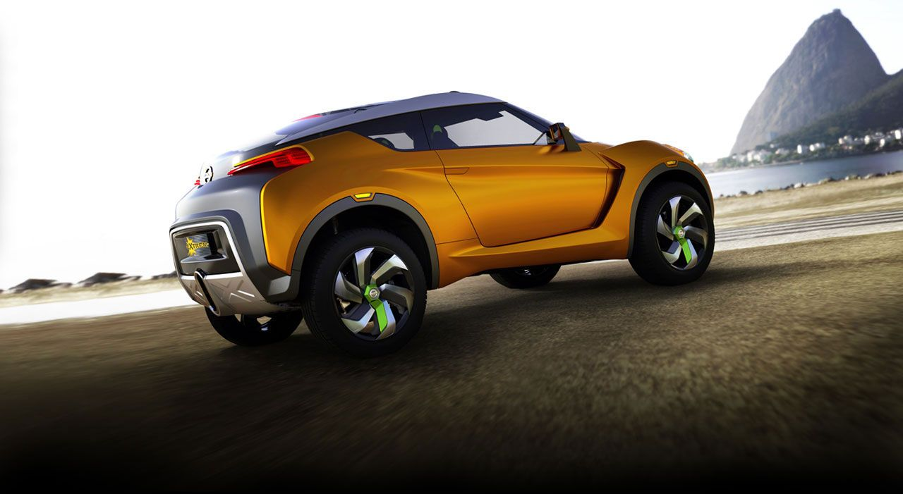 Nissan extrem concept car nissan usa