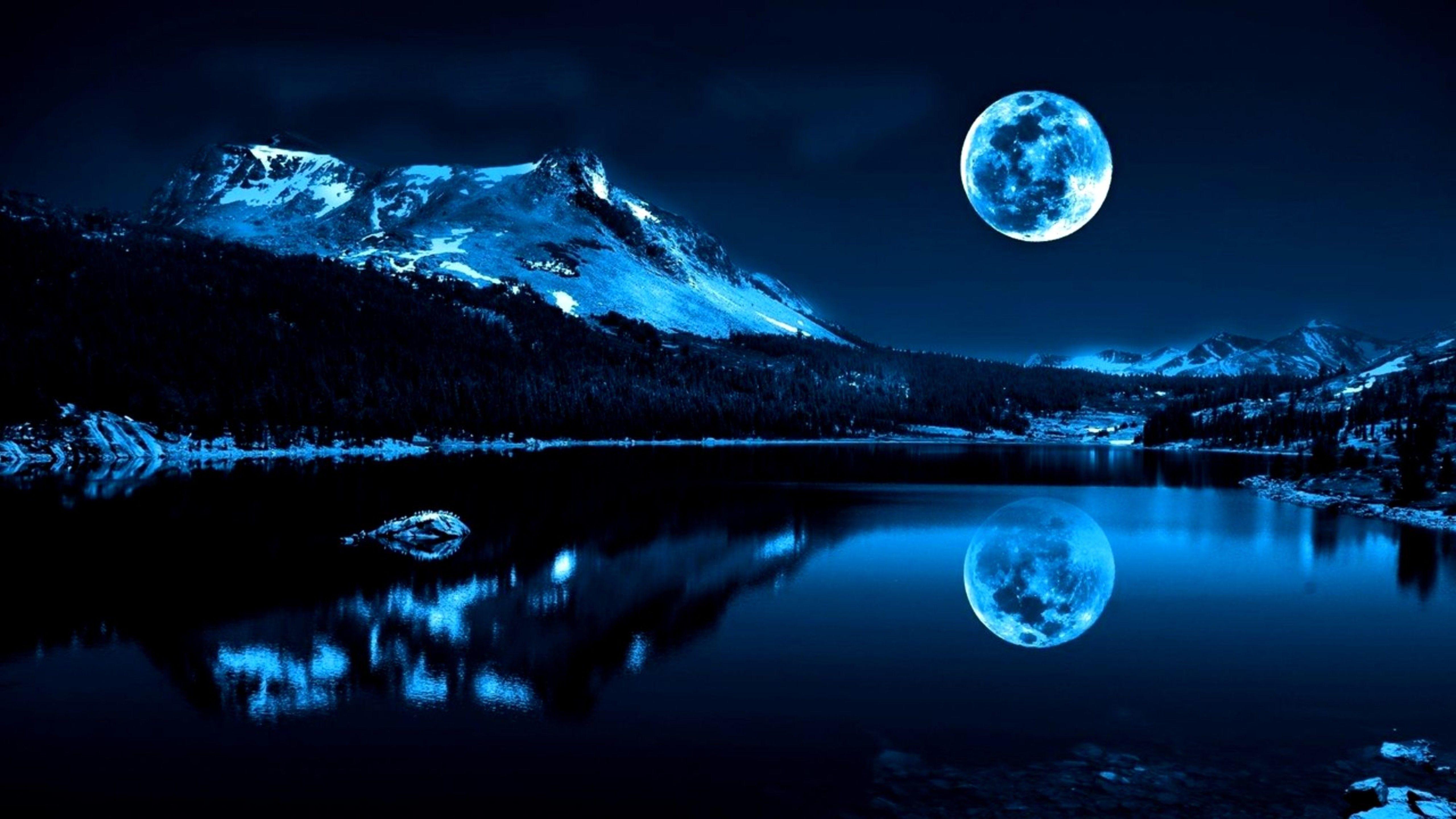 BEAUTIFUL WINTER NIGHT WALLPAPERS HD WAF1006