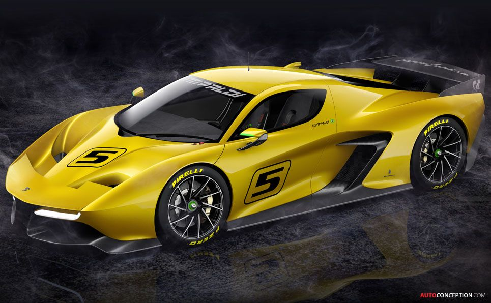 Picture Special Fittipaldi Ef7 Vision Gran Turismo By Pininfarina