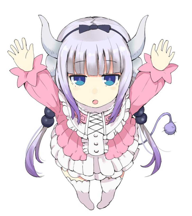 Anime,Аниме,Kanna Kamui,Kobayashisan Chi no Maid Dragon