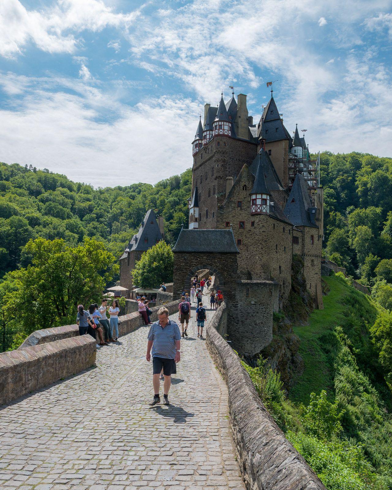 Eltz Castle Castle Beautiful Sights Photography Design