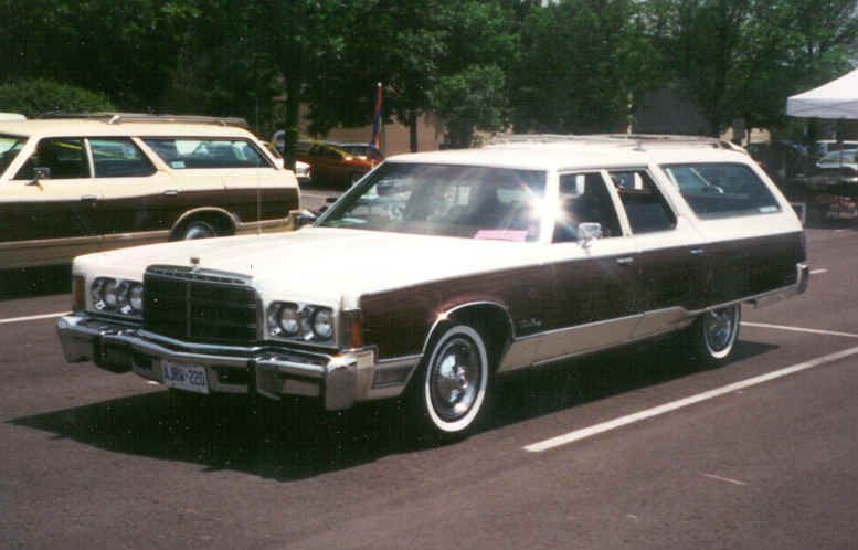 1975 Chrysler Town Country Station Wagon With Images