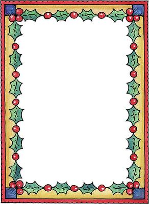 bordes para hojas de navidad - Imagenes y dibujos para imprimir