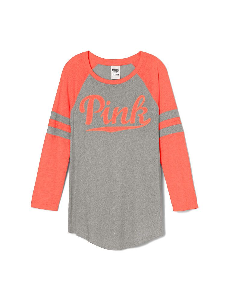 74e50f3fa00e4 Baseball Tee - PINK - Victoria's Secret | VS in 2019 | Pink outfits ...